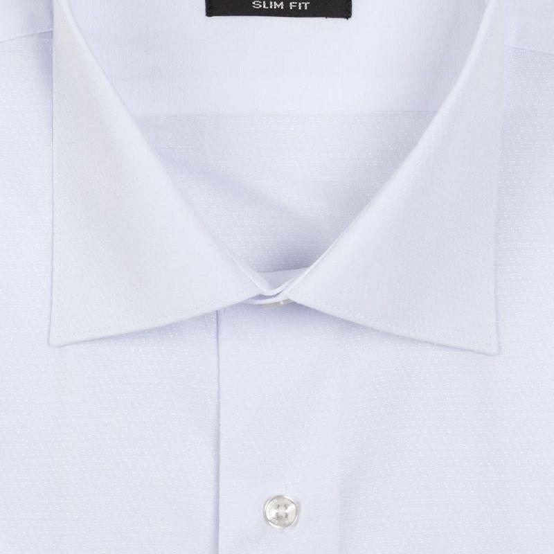 Рубашка белая с выделкой с короткими рукавами