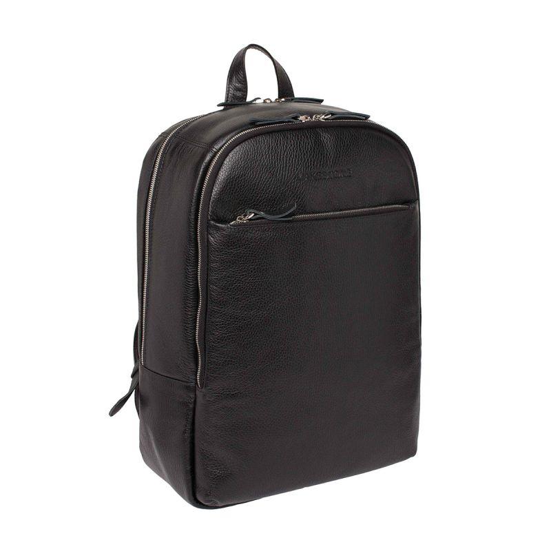 Кожаный рюкзак Lakestone Faber Black