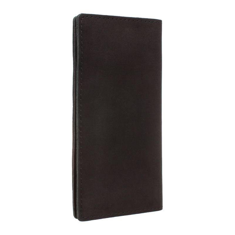 Мужской кожаный клатч Lakestone Anvil Black, чёрный