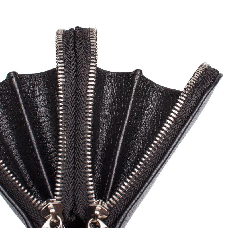 Мужской кожаный клатч Lakestone Bantry Black, чёрный