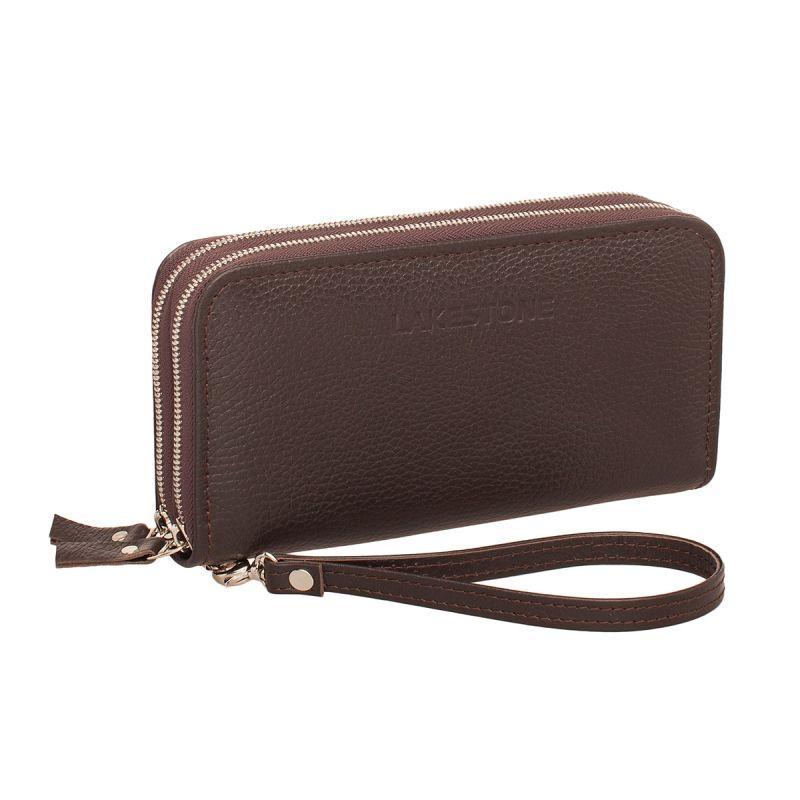Мужской кожаный клатч Lakestone Bantry Brown, коричневый