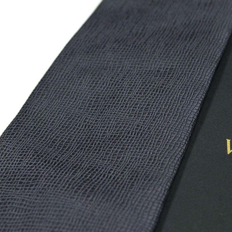 Серый шёлковый галстук с выделкой Valentino