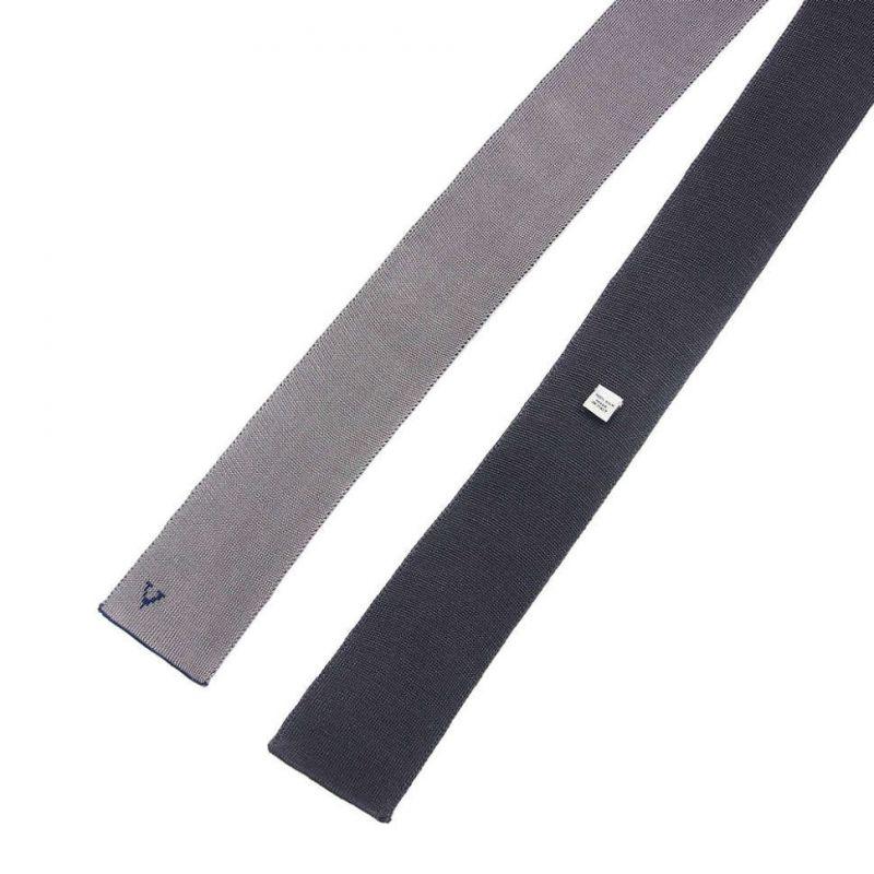 Двухсторонний галстук из шёлка с логотипом Valentino