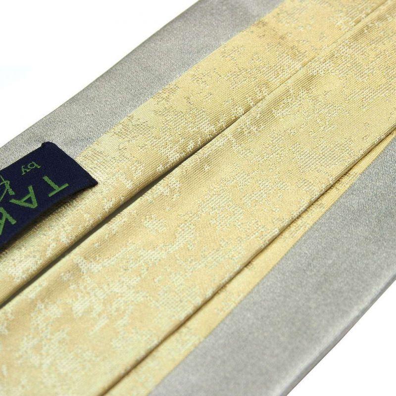 Двухцветный галстук Kenzo Takada зелёная гамма