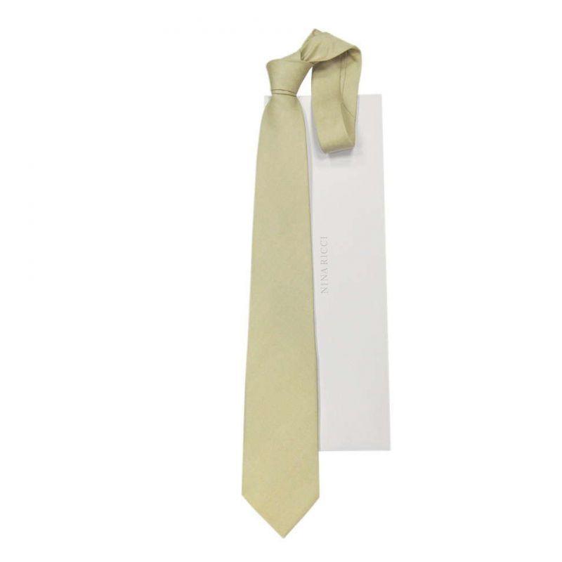 Серый галстук Nina Ricci с птицами