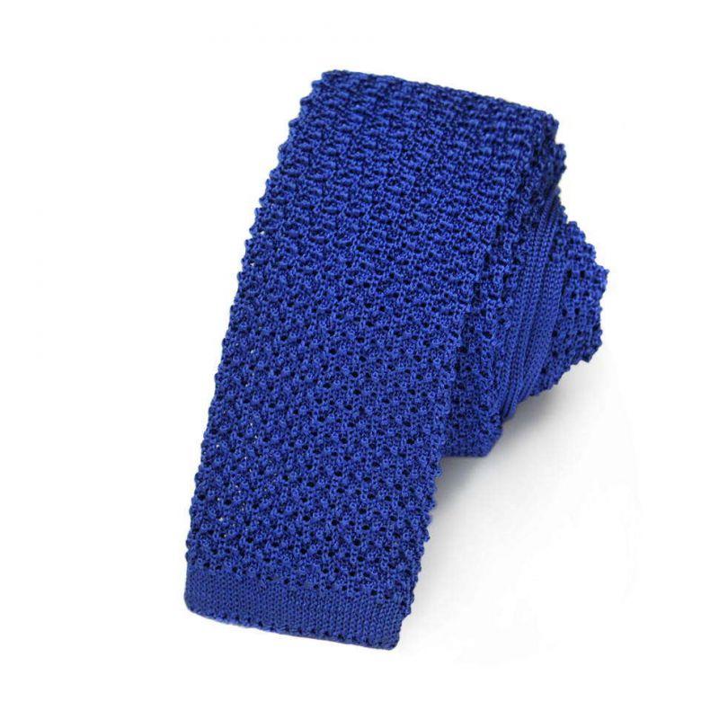 Вязаный галстук Missoni кобальтового синего цвета