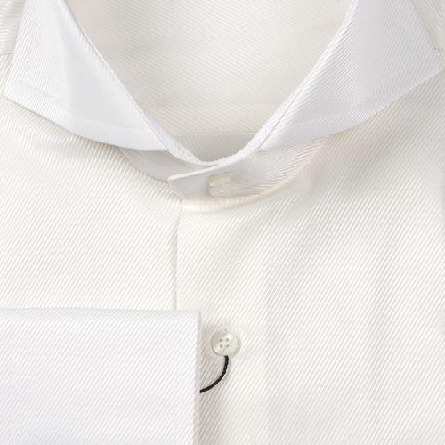 Рубашка шампань однотонная с выделкой неприталенная