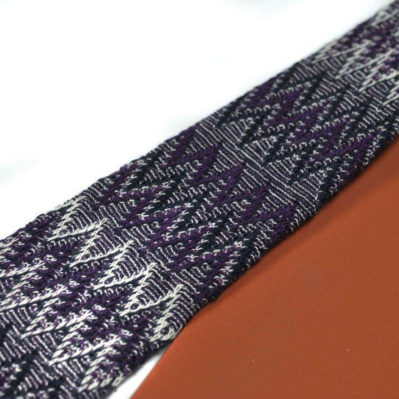Вязаный галстук Missoni в фиолетовой гамме