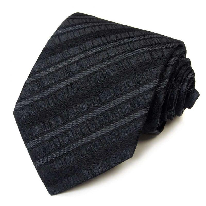 Чёрный галстук Roberto Cavalli с лентами