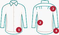 Свободные рубашки — особенности кроя