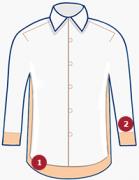 Рубашки на высокий рост — особенности кроя