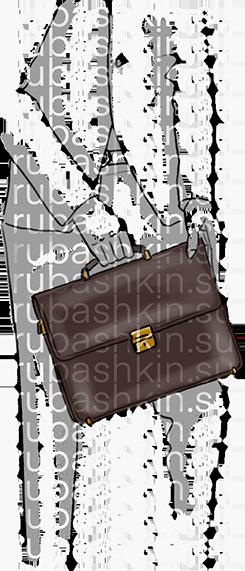 Мужские портфели 100% кожи