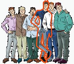 Приталенные мужские рубашки на высокий рост